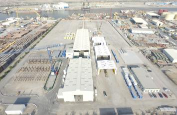 ARCOMET RMC FZC - Ras Al Khaimah, UAE Fabrication Shop